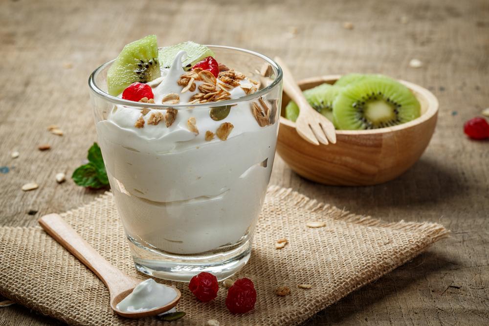 yoghurt using pulse button in blenders